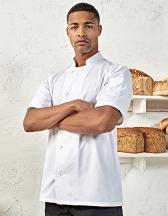 Essential Short Sleeve Chefs Jacket